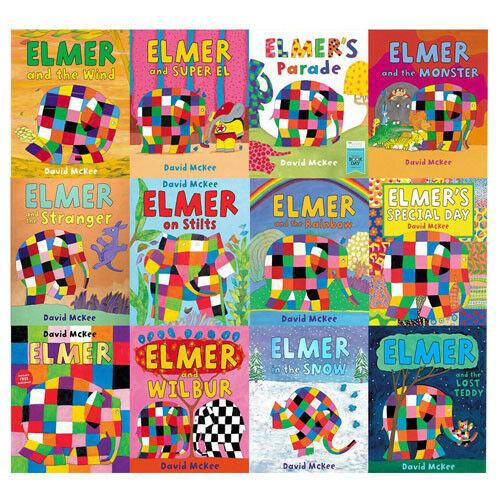 Elmer 10 book Collection Set