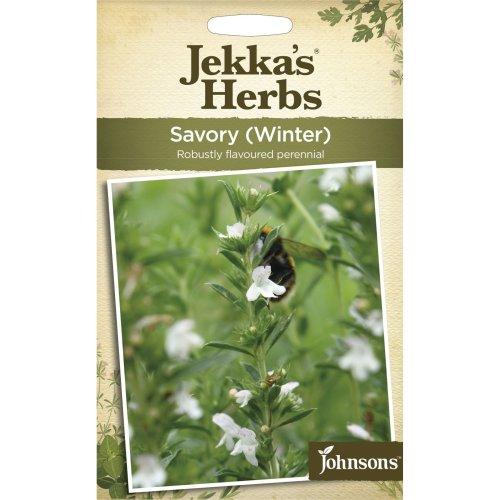 Johnsons - Jekka's Herbs - Pictorial Pack - Savory Winter - 275 Seeds