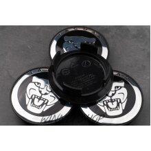 Set of 4 Jaguar alloy wheel centre caps 59mm
