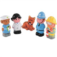 Early Learning Centre Happy Land Happy Heroes Figurines