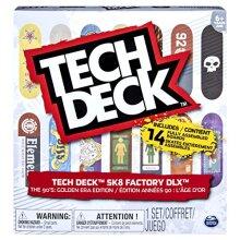 TEcH DEcK, Sk8 Factory DLX 14 Pack Fingerboards, golden Era 90s Edition