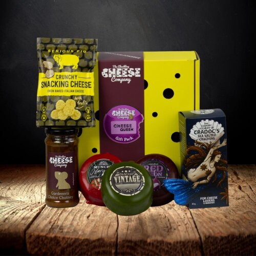 """""""Cheese Queen"""" Gift Box"""