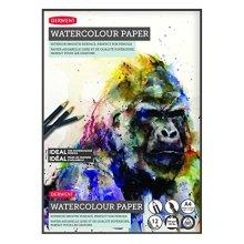Derwent A4 Watercolour Paper Pad, 12 Sheets