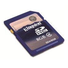 Kingston Technology Sd4/8gb 8gb Sdhc Class 4 Memory Card