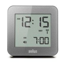 Braun Digital Alarm Clock - Grey