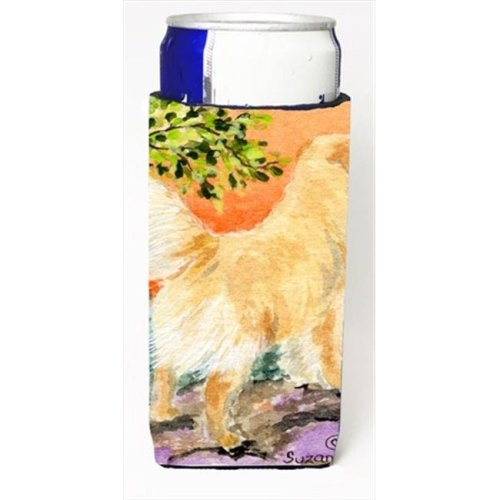 Golden Retriever Michelob Ultra bottle sleeves For Slim Cans - 12 Oz.