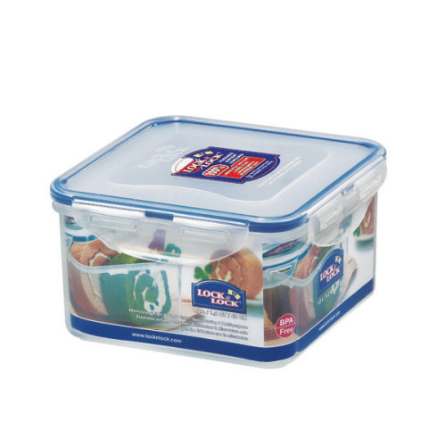 Lock and Lock 1.2L Square Container