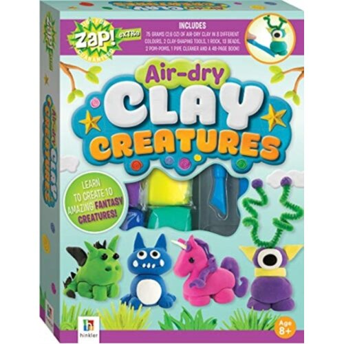 Zap Extra Air-dry Clay Creatures by Hinkler Books & Hinkler Books