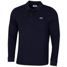 Lacoste Mens Sport Ottoman Cotton Ribbed Cotton Long Sleeve Polo Shirt