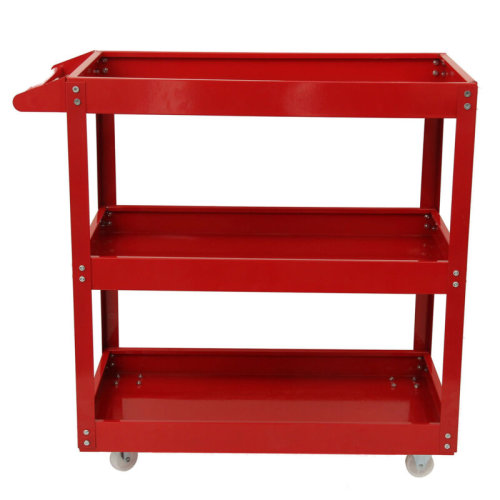 3 Tier Tool Trolley 200kg | Heavy Duty Wheel Cart For Garage Storage