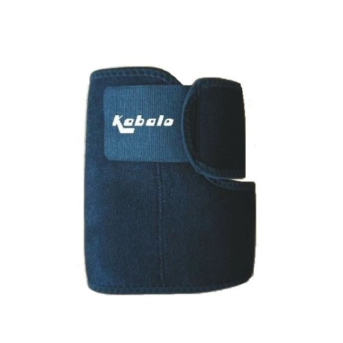 Kabalo Black Adjustable Neoprene Elbow Support Brace - Aids Joint and Muscle Recovery Physio & Fitness