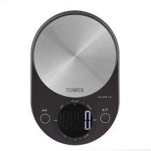 Tower T876000BK Kitchen Scales, Digital Scales Zero Weigh Function