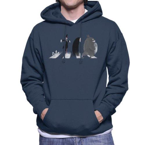 Ghibli Road Men's Hooded Sweatshirt
