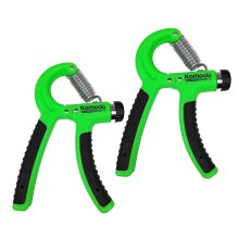 2x Adjustable Hand Grip Exercisers 10-40kg Wrist Strength Trainer