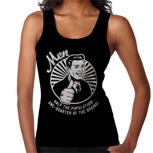 Anti Men Joke Retro Women's Vest
