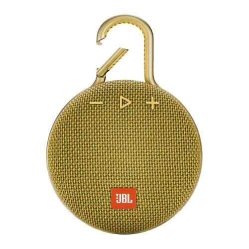 JBL Clip 3 Portable Waterproof Bluetooth Speaker - Yellow