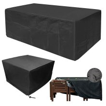 Waterproof Patio Garden Furniture Cover Outdoor Large Rattan Table Protector