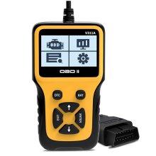 V311A OBD2 Scanner Enhanced Car Scanner Vehicle Code Reader Handheld Universal Automotive Fault Diagnostic Tool for OBDII Protocol Cars Since 1996