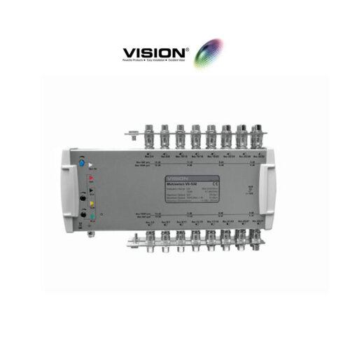 Vision V5-532 Multiswitch 5x32 Output Line Power