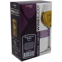 WineBuddy Sauvignon Blanc 6 Bottle - Home brew Wine Making Kit