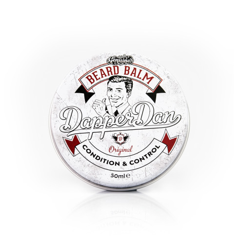 Dapper Dan Beard Balm 1x30ml-Essential Oils & Waxes, Shapes, Styles & Nourishes Your Moustache & Beard, Beard styling For Men, Beard Grooming Products