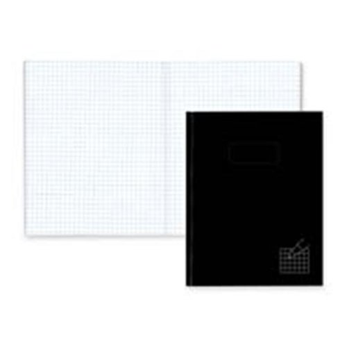Composition Books  4x4 Quad  192 Ct  9-.25in.x7-.25in.  Black