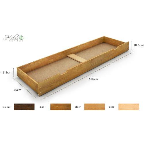 Underbed Storage Drawer 188 cm long