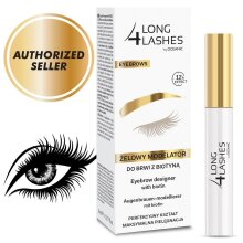 Long 4 Lashes Eyebrow Designer with Biotin 12h effect 8ml Oceanic AA