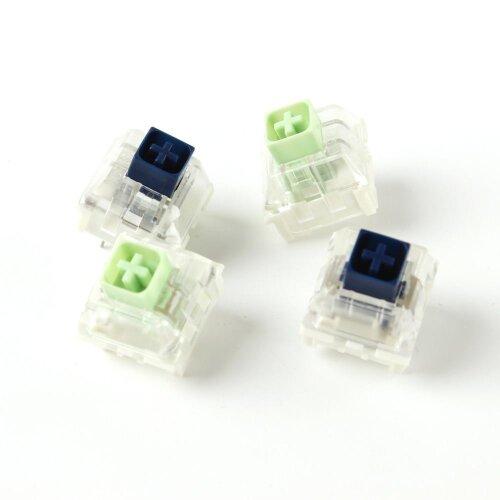 Kailh Box Royal Navy Blue Jade Pink Crystal Box 3 pin Waterproof Switches