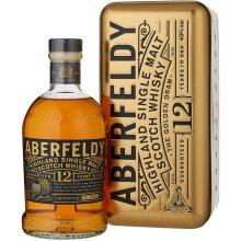 Aberfeldy 12 Year Old Gold Bar Gift Tin Whisky, 70cl