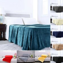 Mink Light Weight Soft Warm Fleece Blanket DOUBLE