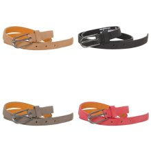 Forest Womens/Ladies Simple Leather Belt