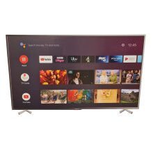 """Polaroid P50UAM2351U 50"""" SMART 4K Ultra HD HDR Android LED TV Freeview Play - Refurbished"""