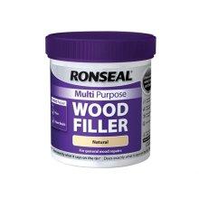 Ronseal 32039 Multi Purpose Wood Filler Tub Natural 930g