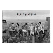 Friends Skyscraper Poster