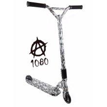1080 Kids Push Kick Alloy Stunt Scooter Gothic Skull Skeleton Design Limited Edition