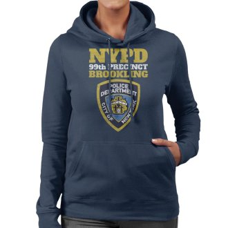 Brookling 99th Precinct Brooklyn Nine Nine Women's Hooded Sweatshirt
