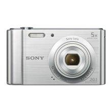 Sony Cyber-Shot DSC-W800 Digital Compact Camera - Silver