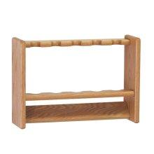 Wooden Mallet PRC5LO 5 Pool Cue Rack - Light Oak