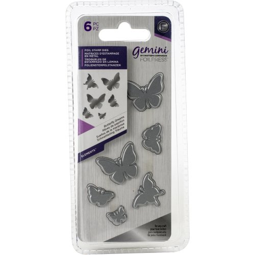 Gemini Foilpress Stamp Die Elements-Butterfly Dreams