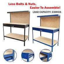 M2S Steel Garage Tool Box Pegboard Work Bench Storage Shelf Work Station Home DIY