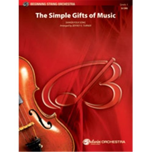Alfred 00-41188 SIMPLE GIFTS OF MUSIC, THE-BBS