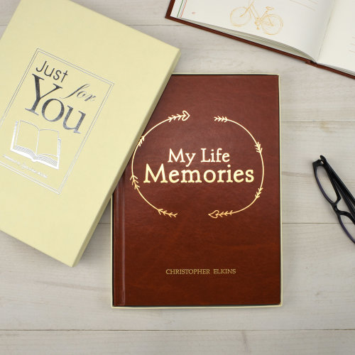 Personalised Journal autobiography My Life Memories