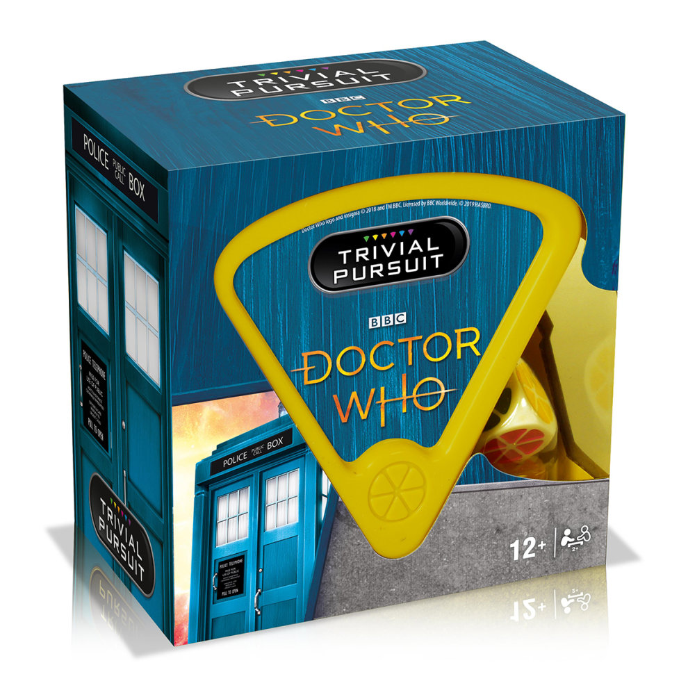 Dr Who Trivial Pursuit Game