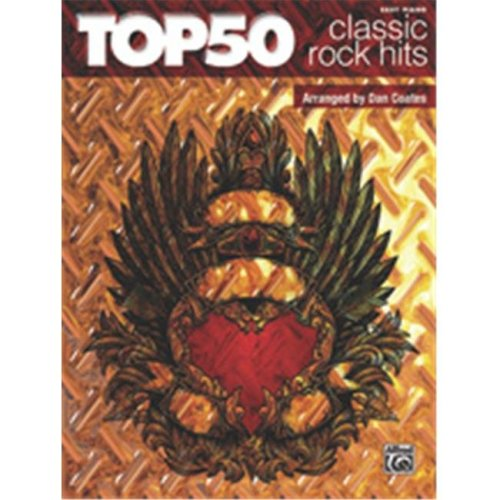 Alfred 00-37176 TOP 50 CLASSIC ROCK HITS- EPCOATES