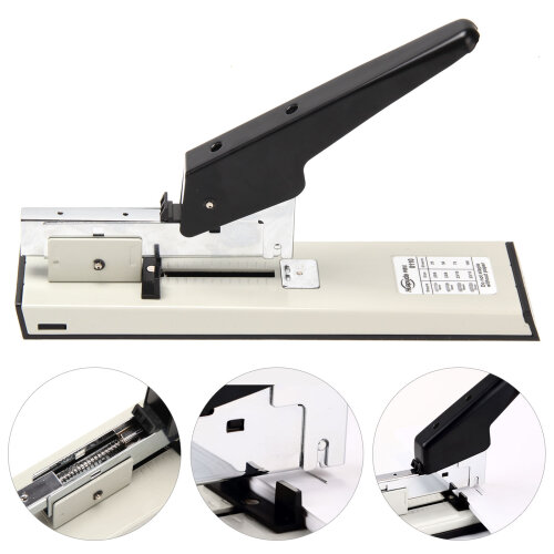 Large 100 Sheets Heavy Duty Metal Stapler Document Paper Bookbinder