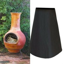 Large Waterproof Outdoor Garden Chimnea/Chiminea Chimney Stove Cover Protector