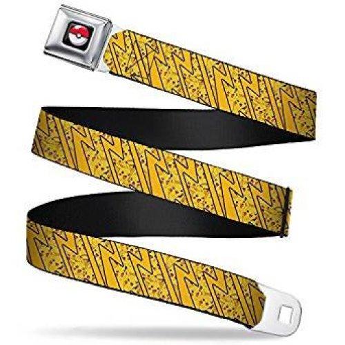 Seatbelt Belt - Pokemon - V.109 Adj 24-38' Mesh New pka-wpk058