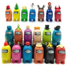 7/12 PCS/Set Among Us Action Figures Collection PVC Dolls Game Toys Kids Gifts