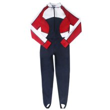 Women Diving Jacket Set Suit With Zipper Snorkeling Wetsuit Watersport Sunscreen Swimming Jumpsuit Scuba